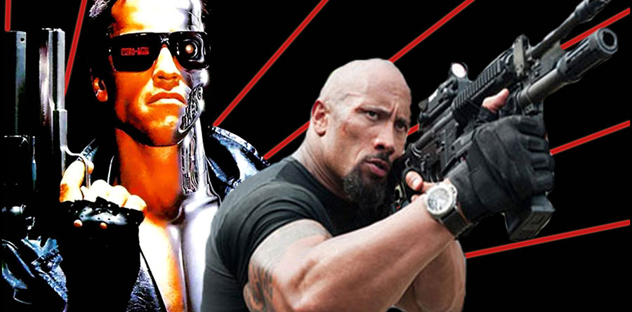 DWAYNE JOHNSON TERMINATORnoticia