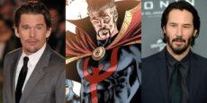 DOCTOR STRANGE noticia: Keanu Reeves y Ethan Hawke nuevos candidatos