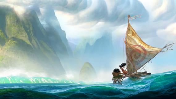 VAIANA primeras fotos: Princesa Disney en la Polinesia