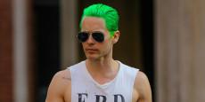 ESCUADRÓN SUICIDA pre-foto: ¿Jared Leto peinado como el Joker?