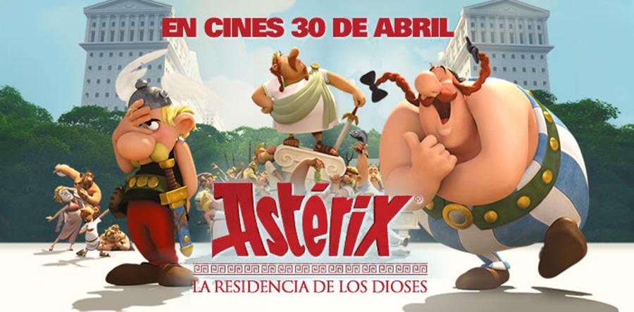 Astérix: La residencia de los dioses