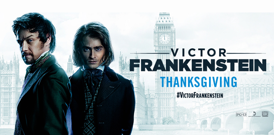 Victor Frankenstein: cine de terror