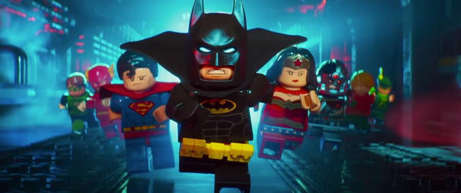 Lego Batman: La película: animación