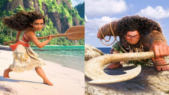 VAIANA personajes: La princesa Disney de la Polinesia