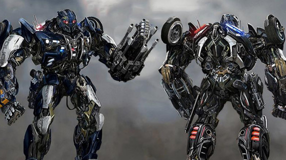 TRANSFORMERS: THE LAST KNIGHT foto: Barricade
