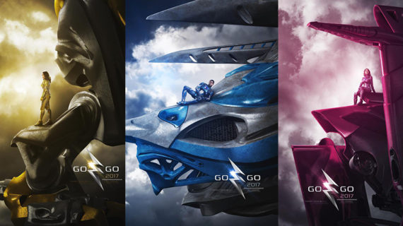 POWER RANGERS nuevos posters