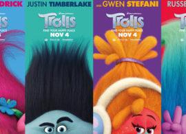 TROLLS posters