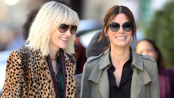 OCEAN'S EIGHT rodaje: Sandra Bullock y Cate Blanchett, las nuevas Clooney y Pitt