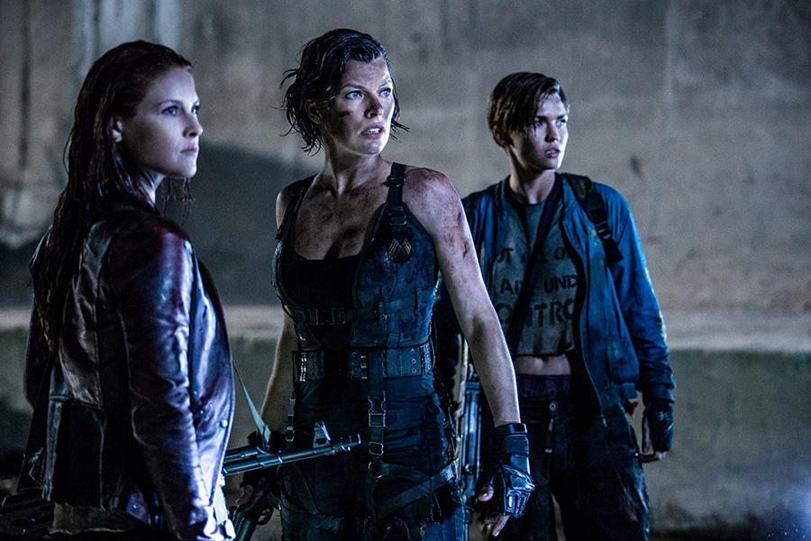 Resident Evil: El capítulo final: acción-terror
