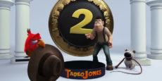 TADEO JONES 2. EL SECRETO DEL REY MIDAS primeras fotos: Vuelve el héroe