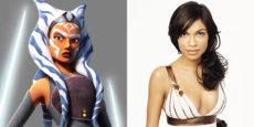 STAR WARS noticia: ¿Será Rosario Dawson Ahsoka Tano?