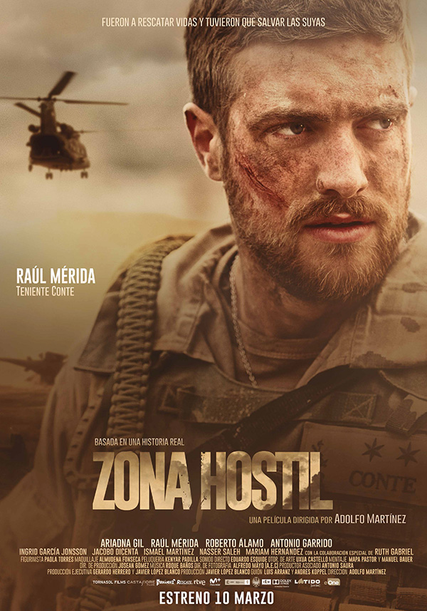 Zona hostil: cine de guerra