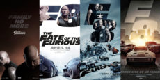 FAST & FURIOUS 8 posters