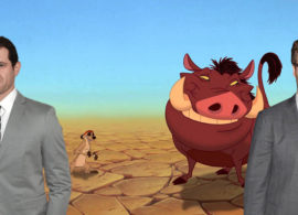 EL REY LEÓN noticia: Habemus Pumba y Timón