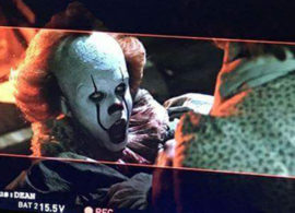 IT set: Pennywise attacks!