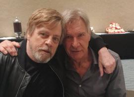 STAR WARS noticia: Mark y Harrison, amigos y enamorados