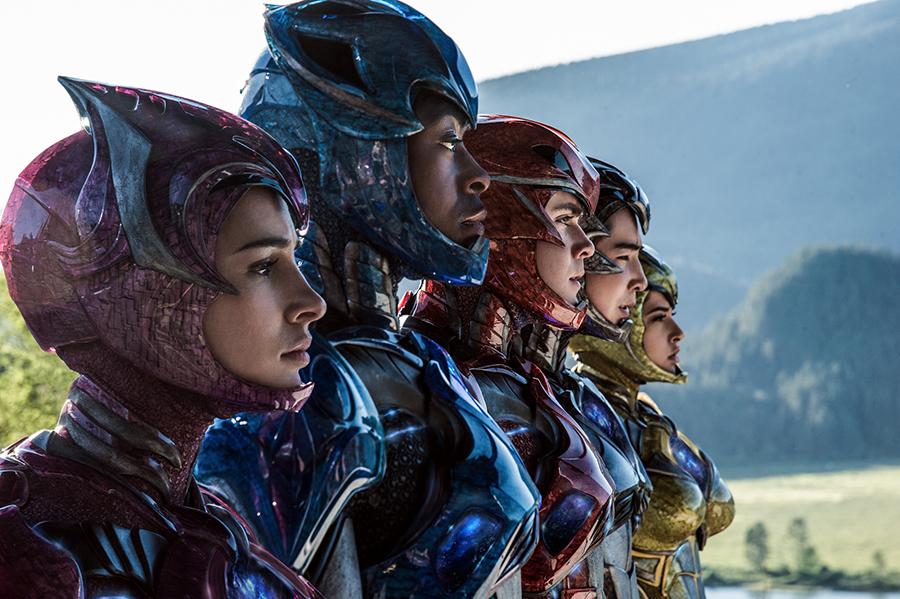 Power Rangers: Cine fantástico