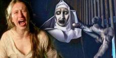 THE NUN noticia: Taissa Farmiga contra la monja fantasma