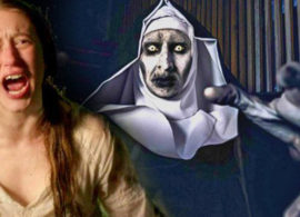 THE NUN noticia: Taissa Farmiga contra la monja fantasma
