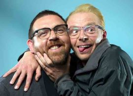 SLAUGHTERHOUSE RULEZ noticia: Pegg y Frost, productores