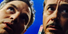 VENGADORES. INFINITY WAR set: Selfie científico