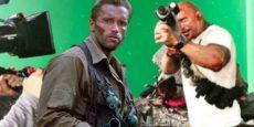 RAMPAGE avance: Dwayne Johnson imita a Arnie