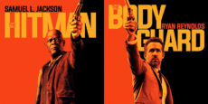 THE HITMAN'S BODYGUARD posters