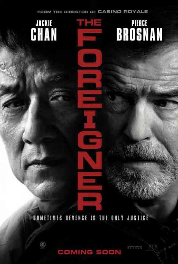 The Foreigner: acción