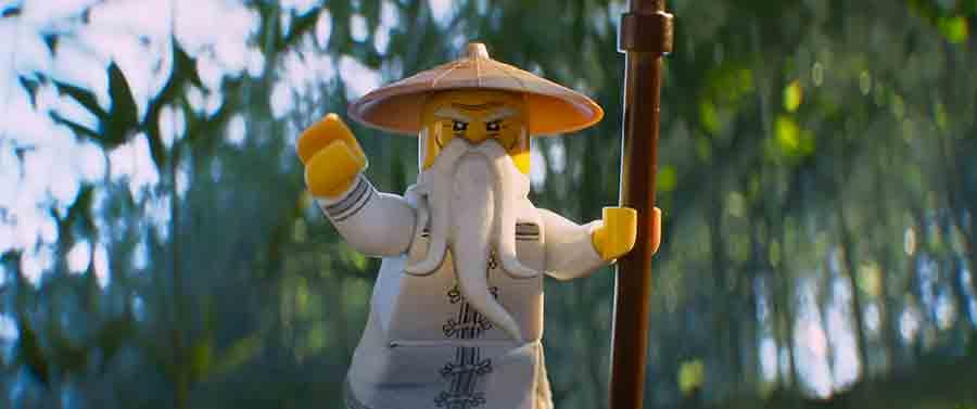 La LEGO Ninjago película: animación