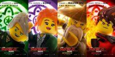 LA LEGO NINJAGO PELÍCULA posters