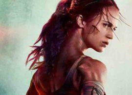 TOMB RAIDER primer poster: Lara Croft, la mujer jirafa