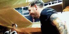 VENOM avance: Tom Hardy estudia el guión