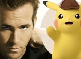 DETECTIVE PIKACHU noticia: Ryan Reynolds será Pikachu