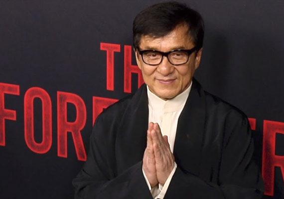 EL EXTRANJERO premiere: Jackie Chan superstar