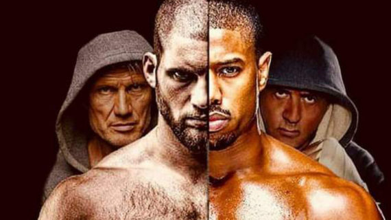 CREED II avance: Primer poster Face/Off