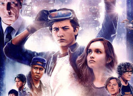 READY PLAYER ONE avance: Poster ochentero con juego