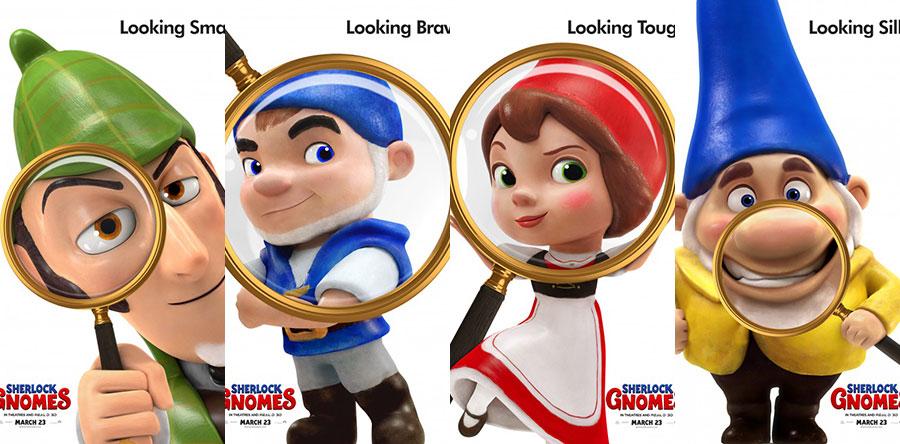 SHERLOCK GNOMES animación