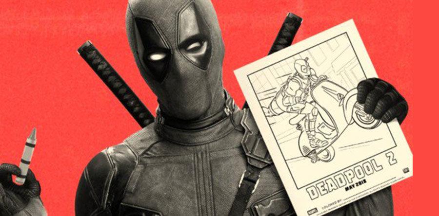Deadpool 2 Avance Cuadernos Para Colorear Web De Cine