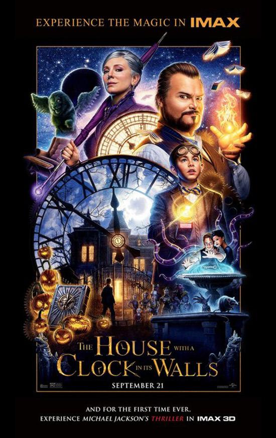 La Casa Del Reloj En La Pared Posters Web De Cine